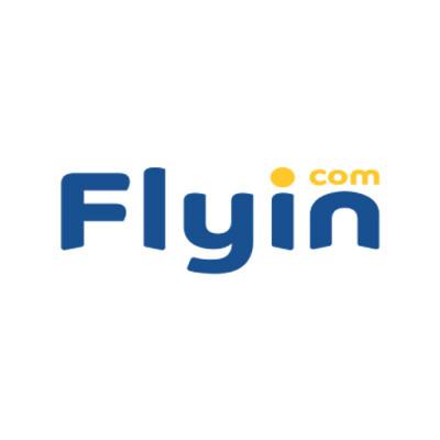 شعار - فلاي ان - كوبون عربي - كوبونات - 2019 - 400x400
