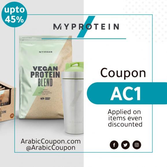 upto 45% MyProtein Coupon - MyProtein Promo Code 2020