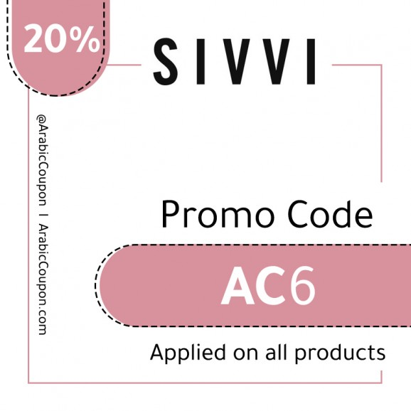 SIVVI - 20% Promo Code - Applied on all items - August - 2019