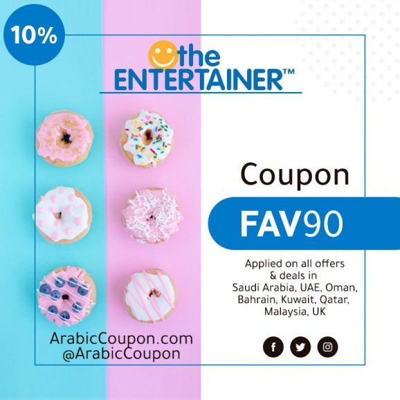 10% The Entertainer Promo Code Active on all 2020 deals & offers